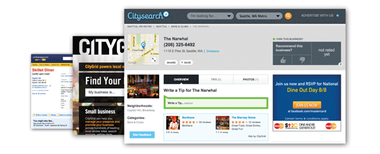 Click here to claim your Citysearch Profile — for FREE!